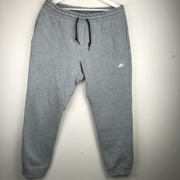 69af27edc3b9 NIKE Gray Sweatpants Jogger With Camo Pocket Large.  M 5b202a283c98449311616ea6